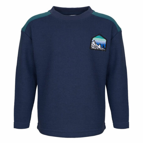 Mini Rebels Sweater Liam Blue Mountain