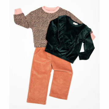 Mini Rebels Sweater Niza Leopard