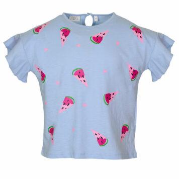 Mini Rebels T-shirt Caky Watermelon Blue