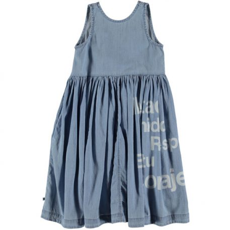 Molo Dress Caera Summer Wash Indigo