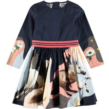 Molo Dress Christin Northen Horse Spirit