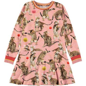 Molo Dress Conny Wannabe Leopard