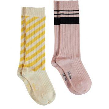 Molo Knee Socks Norvina Sunrise (set van 2 paar)