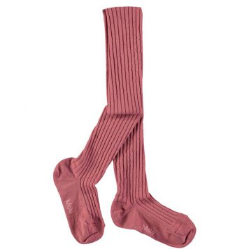 Molo Rib Tights Autumn Berry