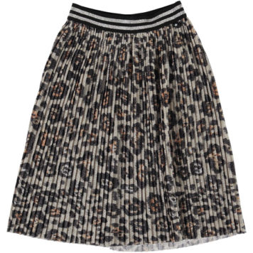 Molo Skirt Bailini Silver Leopard