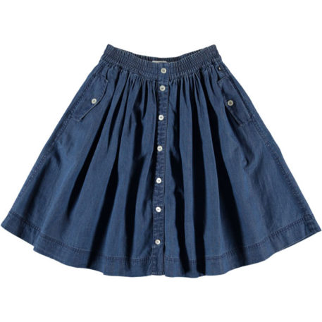 Molo Skirt Bolette Washed Indigo