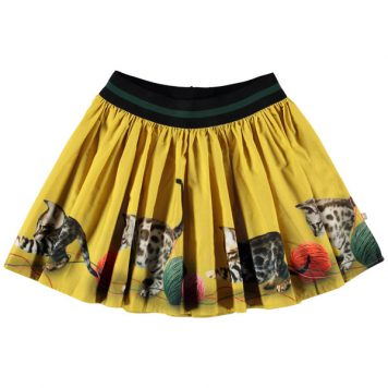 Molo Skirt Brenda Playful Kitties