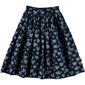 Molo Skirt Brittany Blue Love