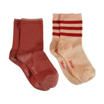 Molo Socks Nella Pearled Ivory (set van 2 paar)