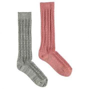 Molo Socks Nivina Autumn Berry (set van 2 paar)