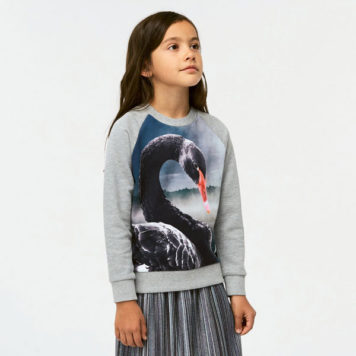 Molo Sweater Marina Black Swan