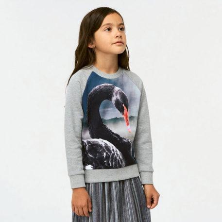 Molo Sweater Marina Black Swan