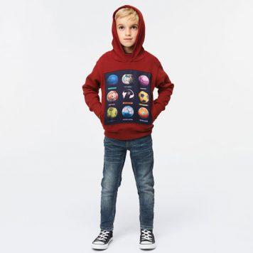Molo Sweater Mix Wild Madder
