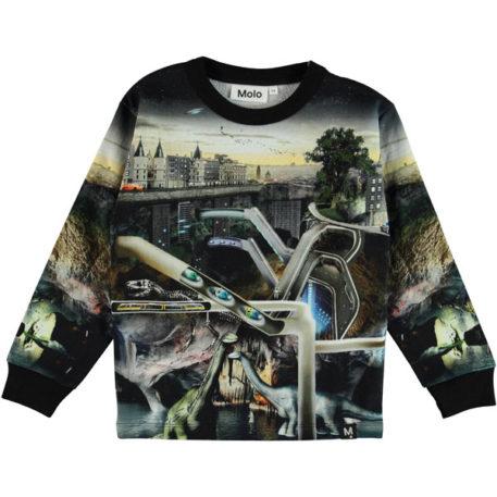 Molo Sweater Mono Over and Under