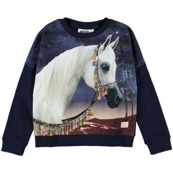 Molo Sweatshirt Marigold Arabian Horse