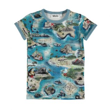 Molo T-shirt Rad Treasure Map