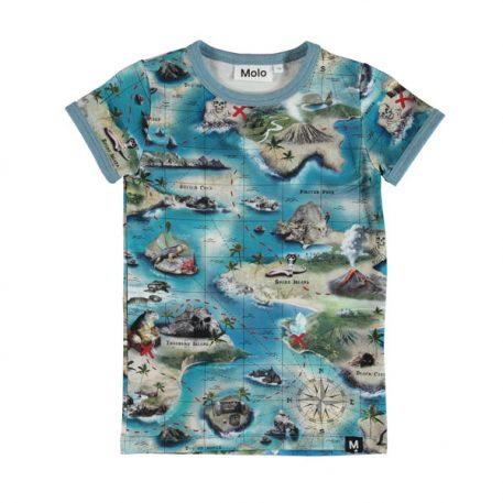 Molo T-shirt Rad Treasure Map
