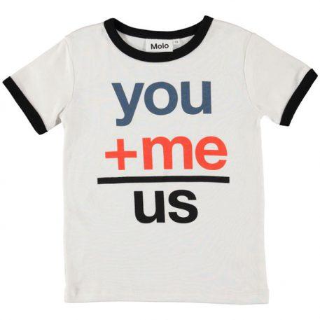 Molo T-shirt Radi White Star