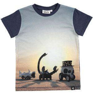 Molo T-shirt Ragnij Black Rock Desert SS18