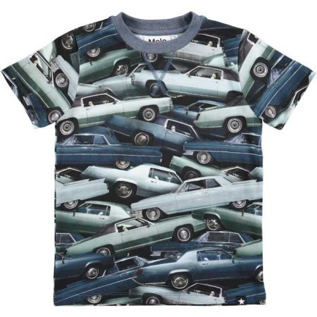 Molo T-shirt Ralphie Stacked Cars
