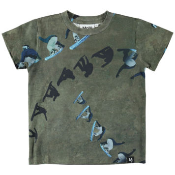 Molo T-shirt Raymont Graphic Snowboarder