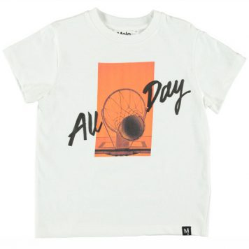 Molo T-shirt Roxo All Day
