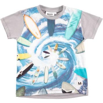 Molo T-shirt Runi Surf Swirl SS18
