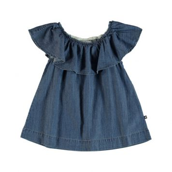 Molo Top Reece Washed Indigo