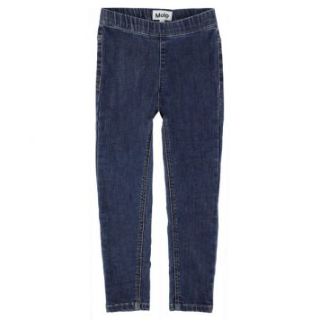 Molo broek April Washed Blue Denim