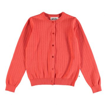 Molo cardigan Georgina Hot Coral