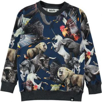 Molo longsleeve Romeo National Animals