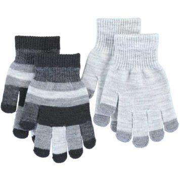 Molo set 2 paar handschoenen Kei Grey