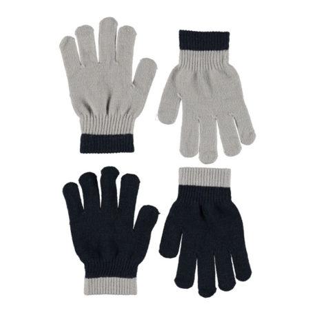 Molo set 2 paar handschoenen Kello Grey Melange