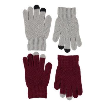 Molo set 2 paar handschoenen Kyra Carbernet