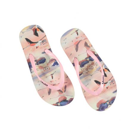 Molo slipper Zeppo Flamingo