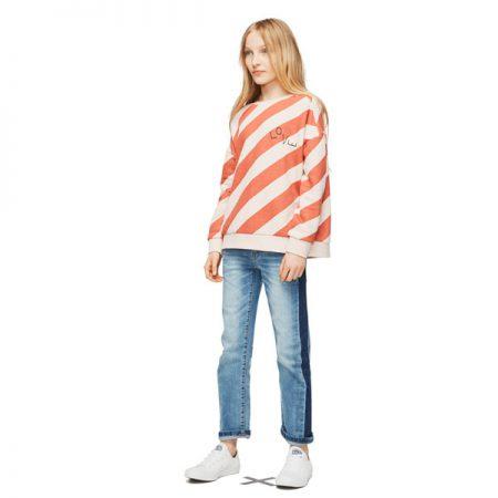 Molo sweater Mandy Diagonal Stripe