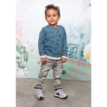 Moodstreet Mini Boys Pants grey