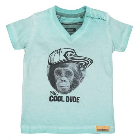 Moodstreet Mini Boys T-shirt Monkey