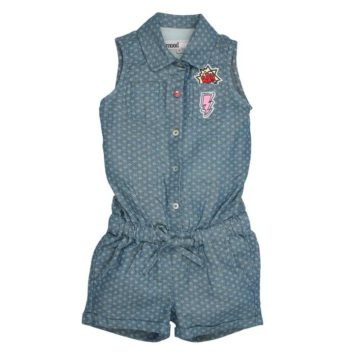 Moodstreet Short Jumpsuit Denim