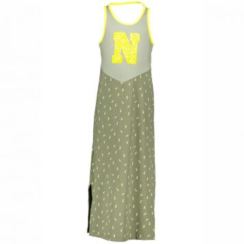 Nono Menuo Maxi Singlet Dress Dusty Olive