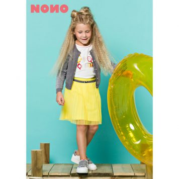 Nono Pleat Skirt Yellow