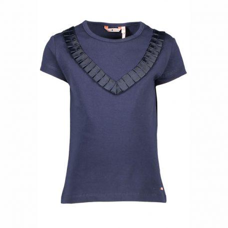 Nono T-shirt Kemsa Ruffle Navy
