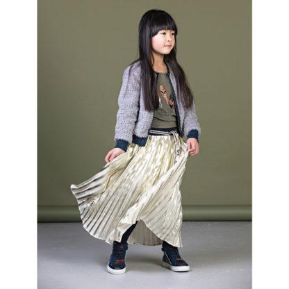 Nono long plisee skirt