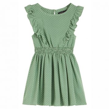 Petit Louie Adele Dress Mini-Me Jungle Green
