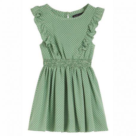 Petit Louie Adele Dress Mini-Me Jungle Green