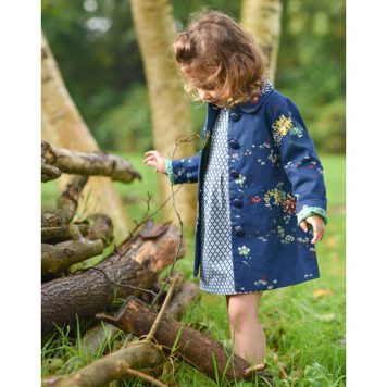 Petit Louie Anais Coat Goldflower SS18