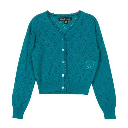 Petit Louie Cardigan Perla Blue Haven