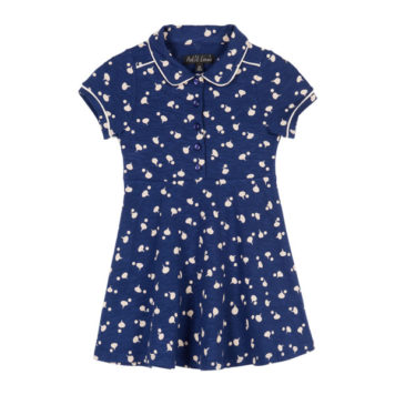 Petit Louie Diner Dress Chatter Blue
