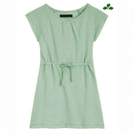 Petit Louie Raglan Dress Babylon Stripe