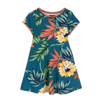 Petit Louie Skater Dress Marisol Parade Blue